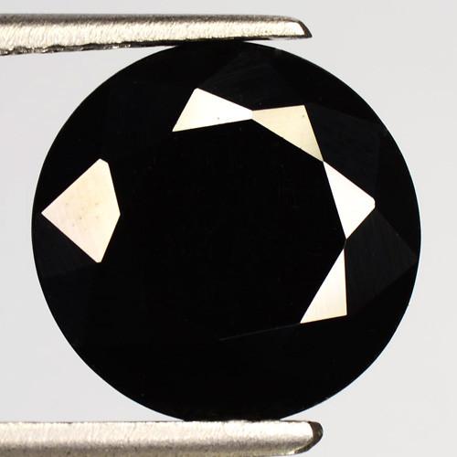 4.50 Cts Very Rare Jet Black Color Natural Spinel Gemstone