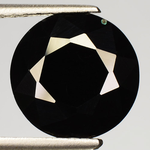 3.96 Cts Very Rare Jet Black Color Natural Spinel Gemstone