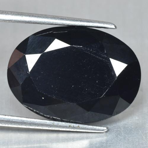 10.50 Cts Very Rare Jet Black Color Natural Spinel Gemstone