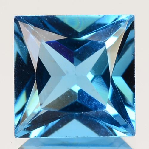 3.06 Cts Fancy Swiss Blue Color Topaz Natural Gemstone