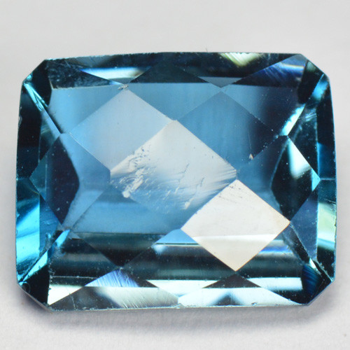 2.60 Cts Fancy Swiss Blue Color Topaz Natural Gemstone