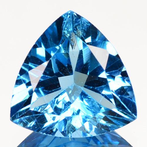 3.42 Cts Fancy Swiss Blue Color Topaz Natural Gemstone