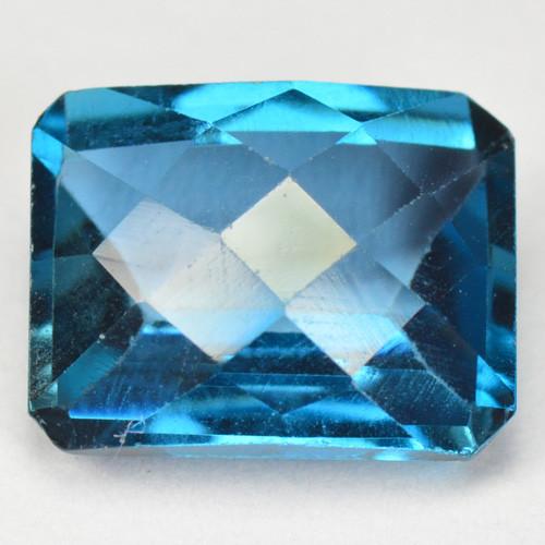 2.30 Cts Fancy Swiss Blue Color London Topaz Natural Gemstone