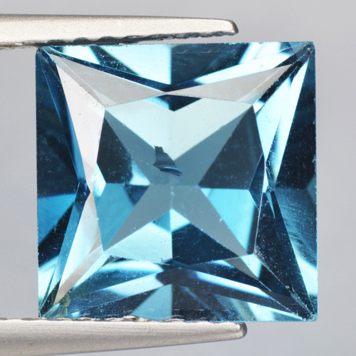 4.26 Cts Fancy Swiss Blue Color Topaz Natural Gemstone