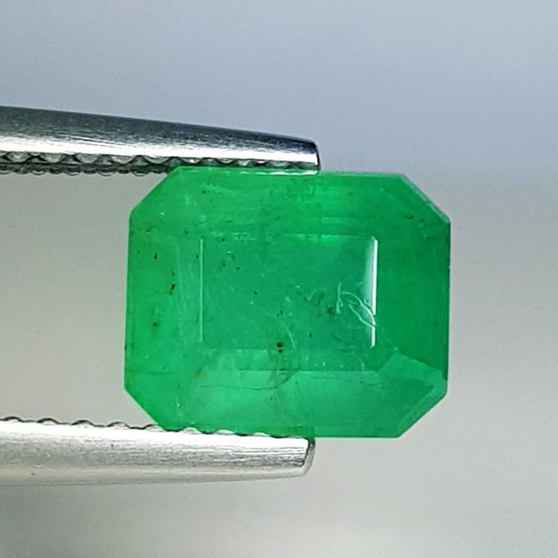 2.05 ct  AAA Grade Gem Beautiful Octagon Cut Natural Emerald