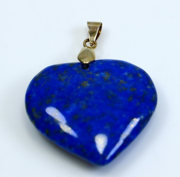 73.15 CT Natural  Beautiful Blue Lapis Lazuli Heart Pendant