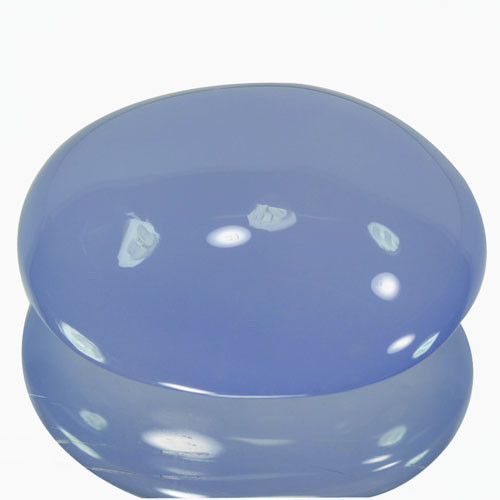 39.80Ct Natural Blue Chalcedony Oval Cab Peru