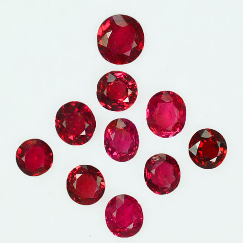 4.48Ct Natural Vibrant Red Natural Burmese Spinel Parcel
