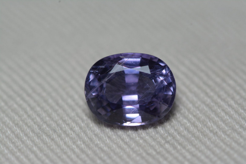 Unheated Purple Sapphire GIA Certified 2.11 Carat Untreated GIA Certificate