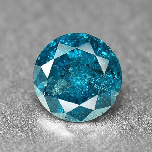0.29 Cts Sparkling Rare Fancy Intense Blue Color Natural Loose Diamond
