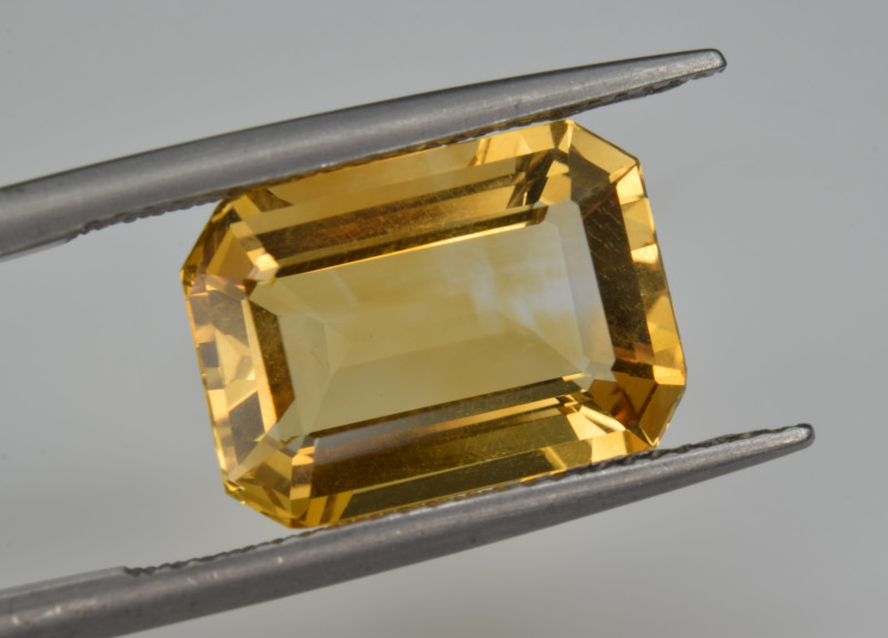 Natural Citrine 5.95 Cts Faceted Gemstone