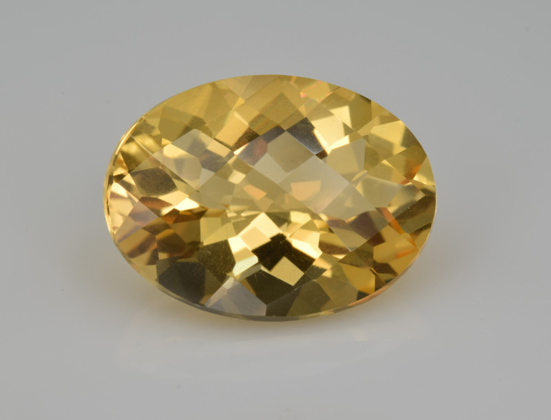 Natural Citrine 7.60 Cts Faceted Gemstone