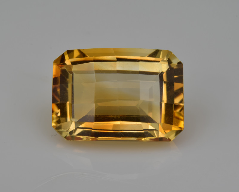 Natural Citrine 7.73  Cts Faceted Gemstone