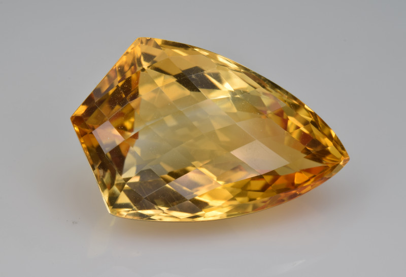 Natural Citrine 17.99  Cts Faceted Gemstone