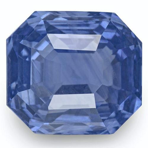 GRS Certified Sri Lanka Blue Sapphire, 7.15 Carats, Lively Intense Blue