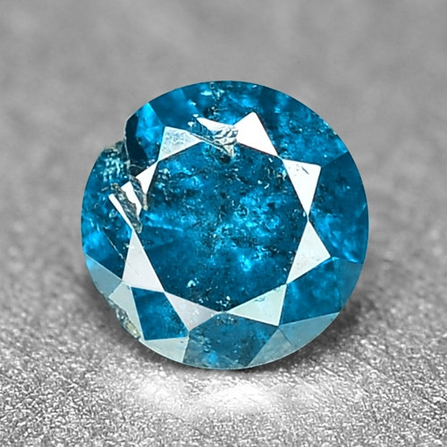 0.13 Cts Sparkling Rare Fancy Intense Blue Color Natural Loose Diamond