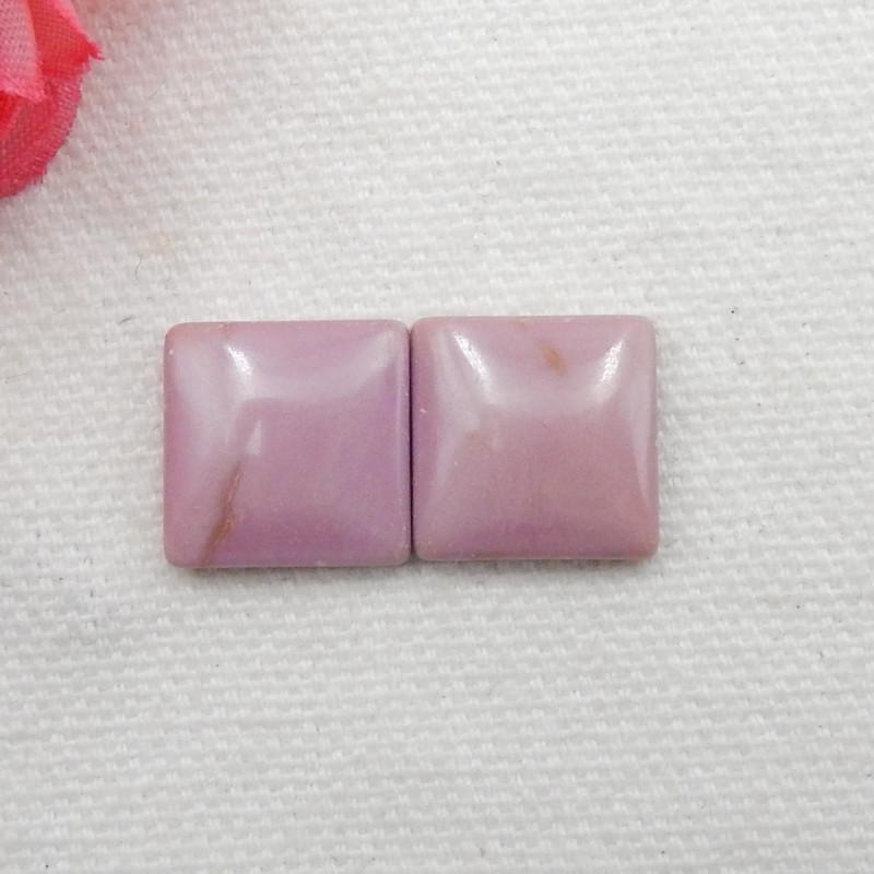 14cts ziyun mother jasper cabochons earrings ,gemstone earrings ,healing st