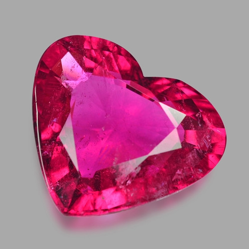 8.90 Cts Un Heated Pink Color Natural Rubellite  Loose Gemstone