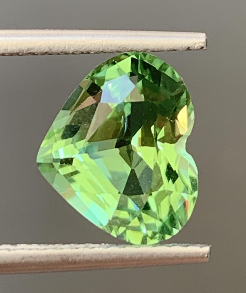 3.40 Carats Natural Color Tourmaline Gemstone