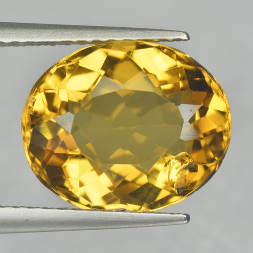 3.96 Cts Amazing Rare Golden Yellow Natural Beryl Loose Gemstone
