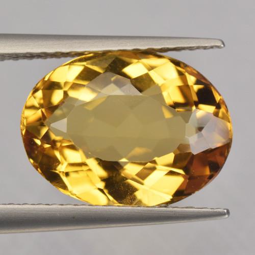 4.14 Cts Amazing Rare Golden Yellow Natural Beryl Loose Gemstone