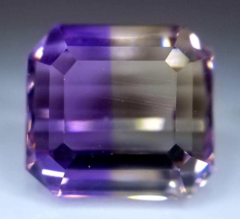 Ametrin,  6.45ct, VVS, extraordinary stone of exeptional quality!