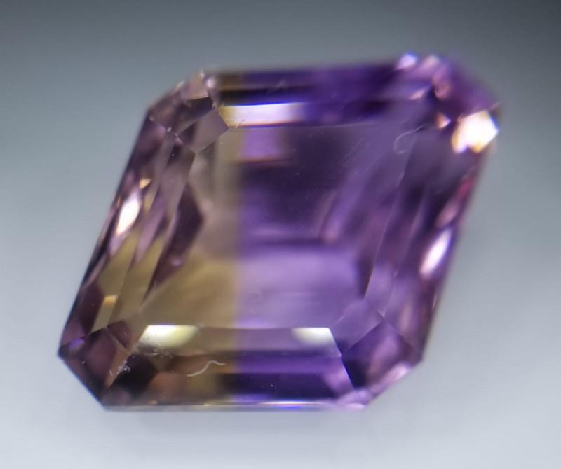 Ametrin, 10.31ct, exceptional stone!! VVS