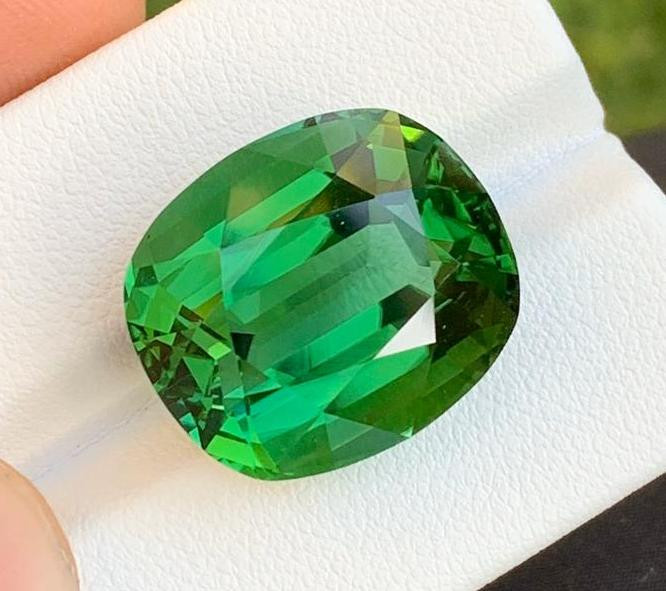 Loupe Clean 23.35 ct Natural Green Tourmaline