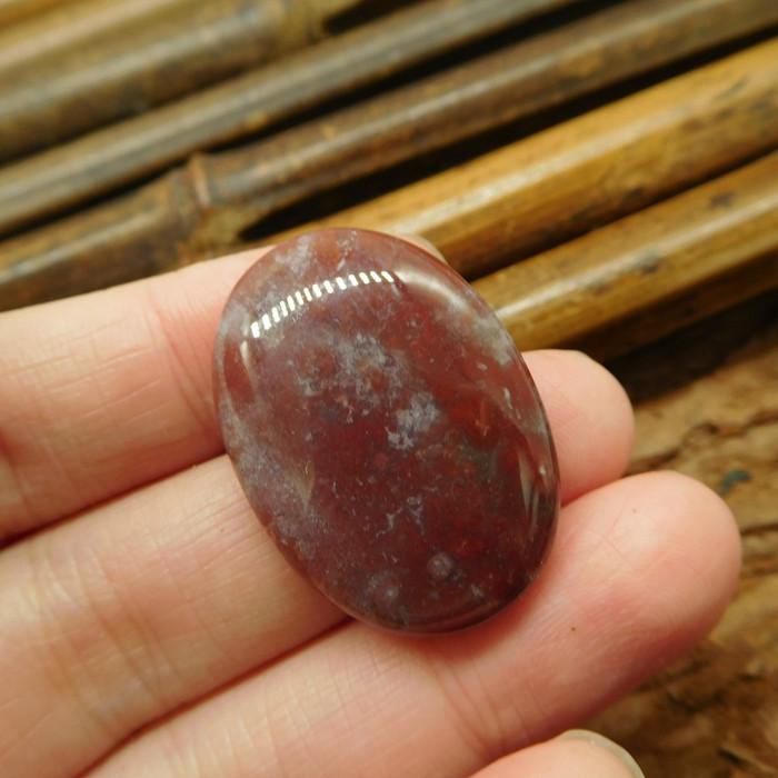Gemstone fancy agate cabochon (G1960)