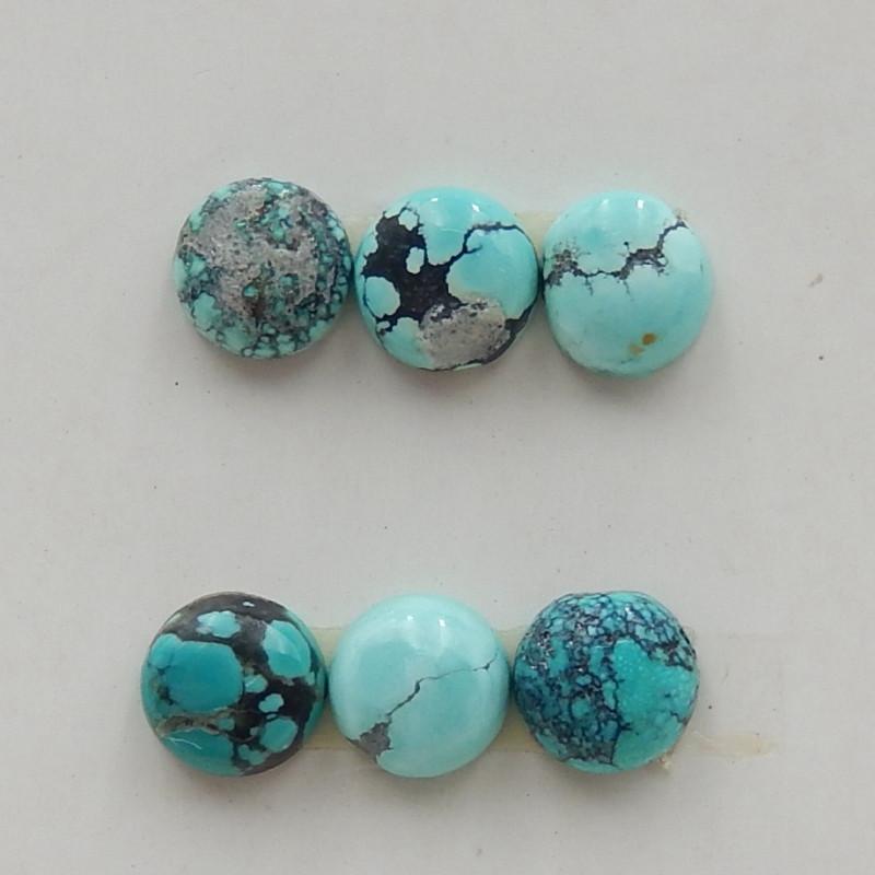 5cts Turquoise Cabochon,Handmade Gemstone ,Turquoise Cabochons G311