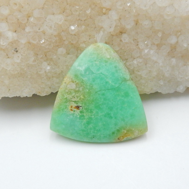 35.5cts Chrysoprase For jewellery Chrysoprase Cabochon, Chrysoprase G323