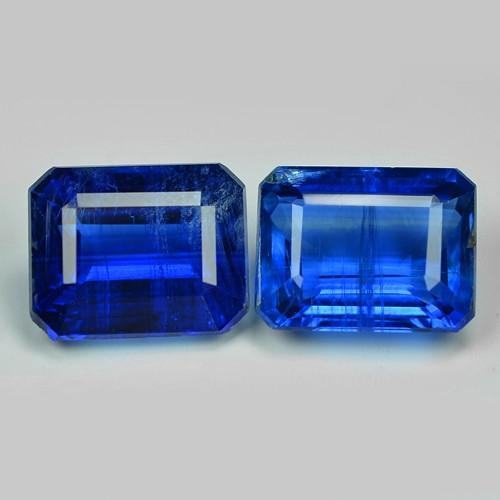 *NoReserve*Kyanite 4.19 Cts 2Pcs Blue Color Natural Gemstone