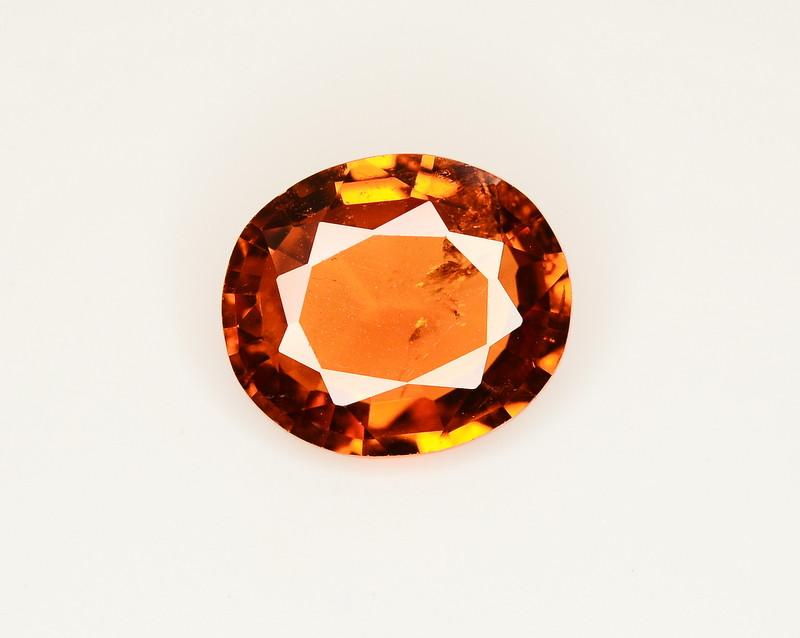 3.20 Ct Natural Orange Color Spessartite Garnet Gemstone SKU 23