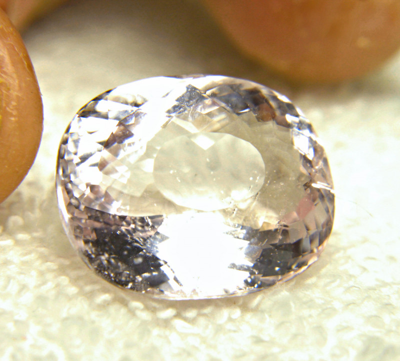 CERTIFIED - 30.63 Carat SI Brazilian Pink Morganite - Gorgeous