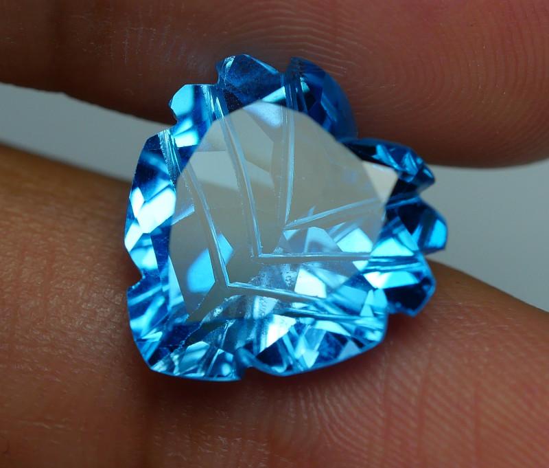 10.020 CRT LOVELY SWISS BLUE TOPAZ VERY CLEAR-