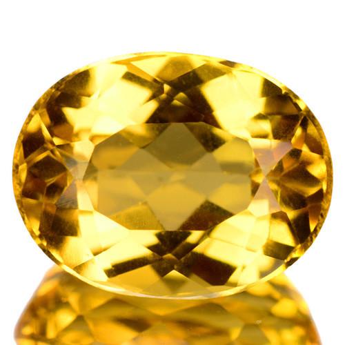 2.92 Cts Amazing Rare Golden Yellow Natural Beryl Loose Gemstone