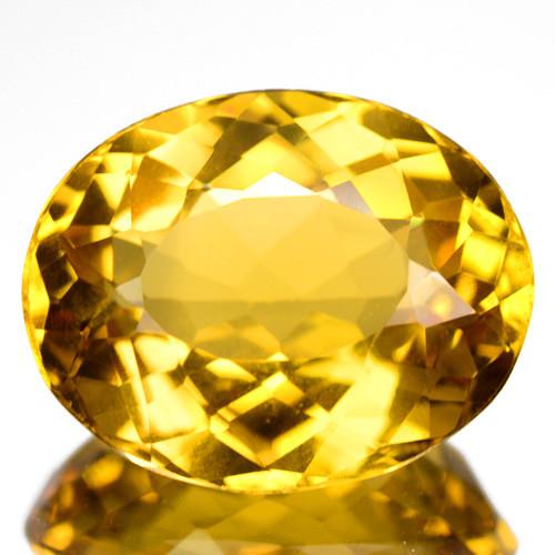 4.03 Cts Amazing Rare Golden Yellow Natural Beryl Loose Gemstone