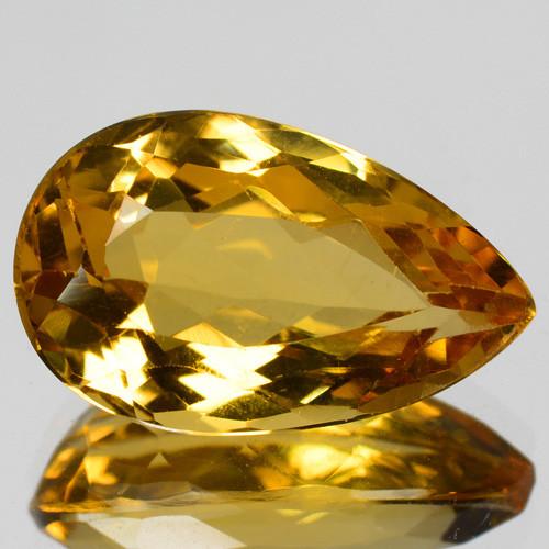 4.26 Cts Amazing Rare Golden Yellow Natural Beryl Loose Gemstone