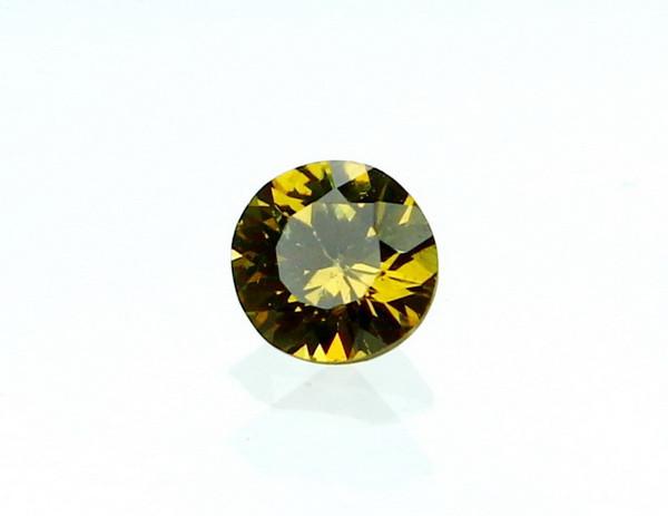 0.30 CT Natural Demantoid Green Garnet Gemstone