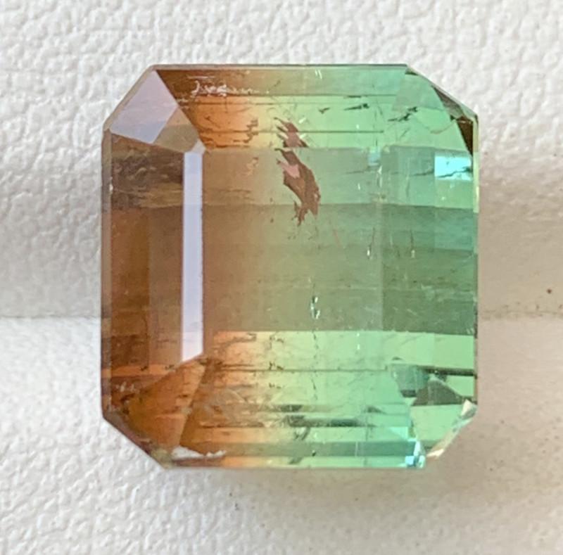 13.65 Carats Natural Bi Color Tourmaline Gemstone
