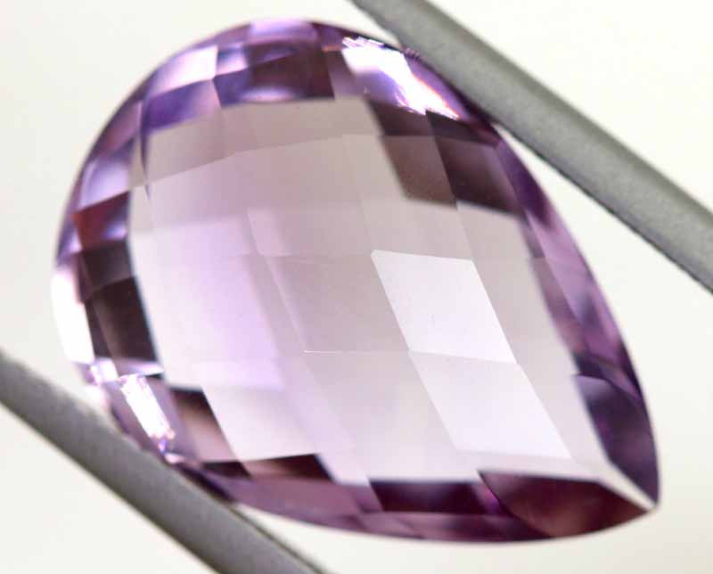 11.60 CTS AMETHYST FACETED STONE CG-3023