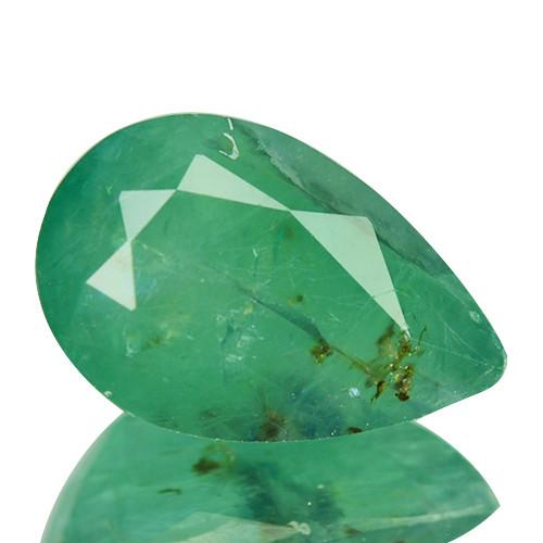 ~RARE~ 6.00 Natural Bluish Green Grandidierite Pear Cut Madagascar