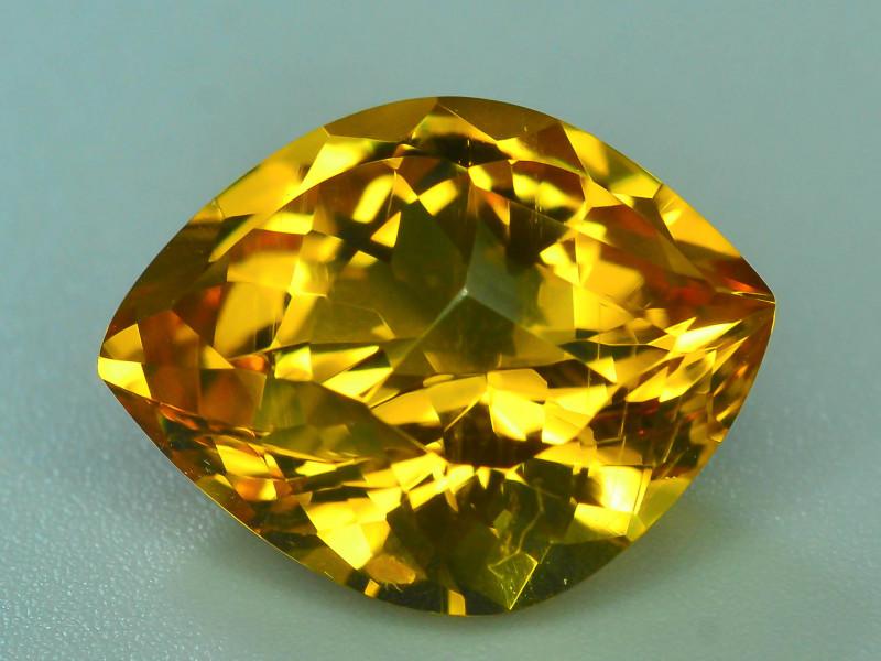 Rare Beryl~7.55 Ct Natural  Golden Yellow