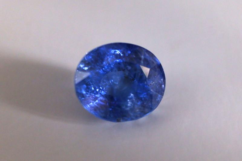 16.10ct Unheated Blue Sapphire, Burma, GIA