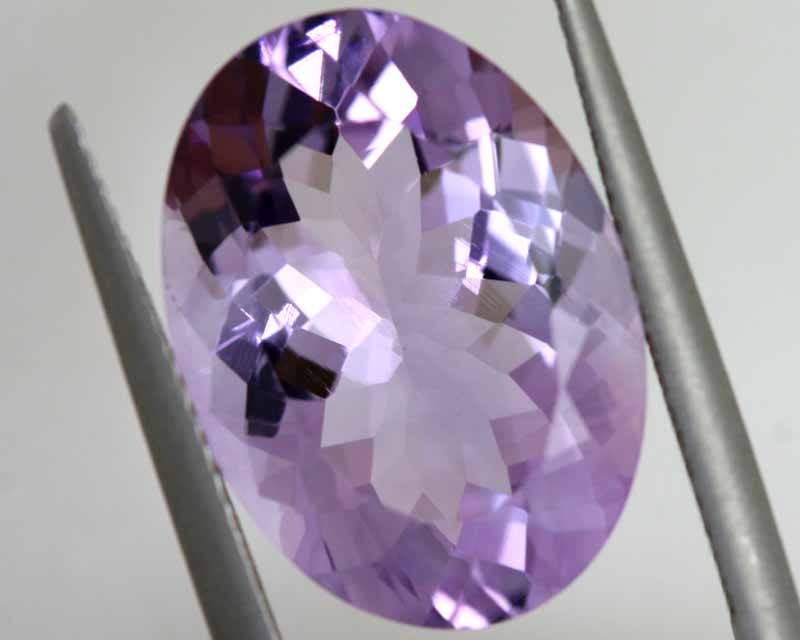 10.18 CTS AMETHYST FACETED STONE CG-3041