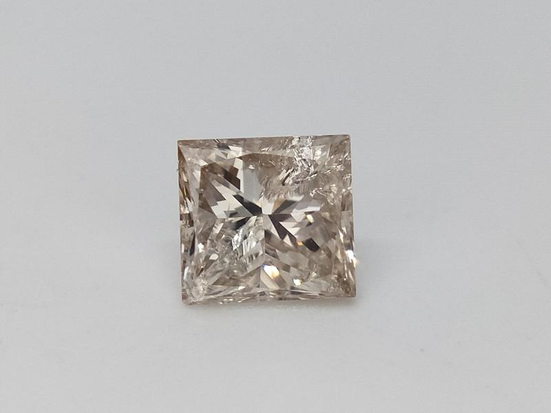 0.63 cts , Champagne princess diamond , Loose Diamond , LCP1107
