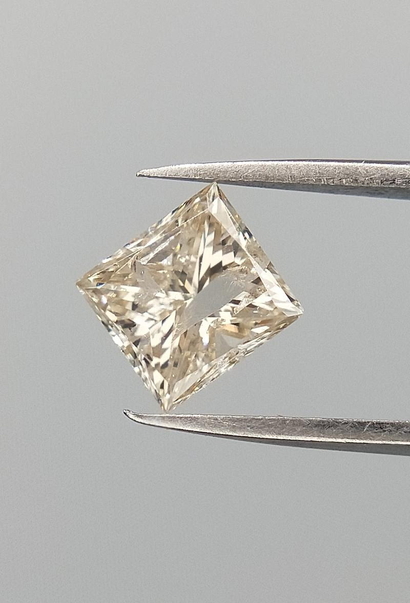 0.46 CTS , Natural Diamond , Setting stone , princess brilliant cut , LCP11