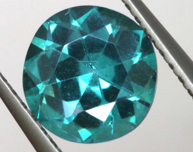 1.60CTS  GREEN TOPAZ FACETED GEMSTONE  CG-3058