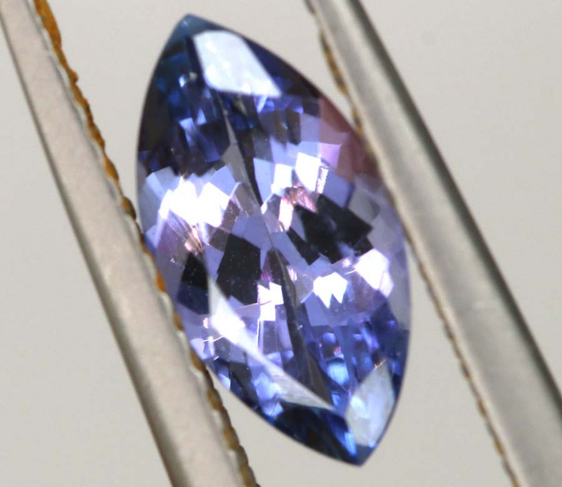 1.15 CTS TANZANITE  FACETED   CG -3107