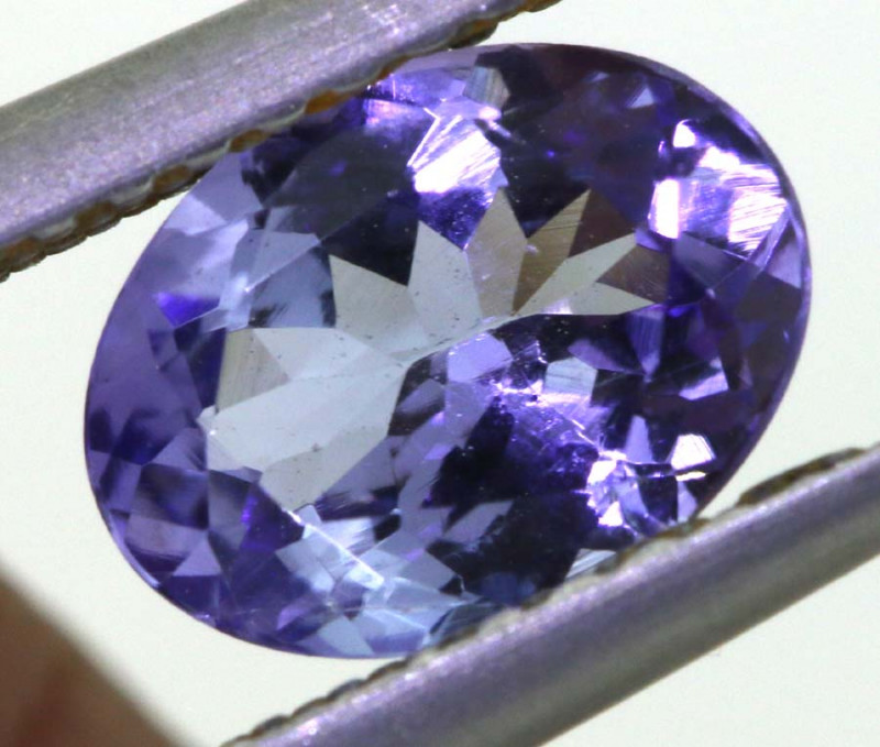 1.05 CTS TANZANITE  FACETED   CG -3118